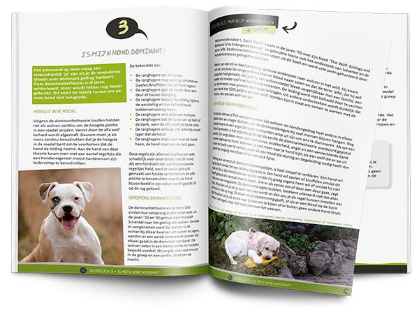 ebook hondenopvoeding opengeslagen